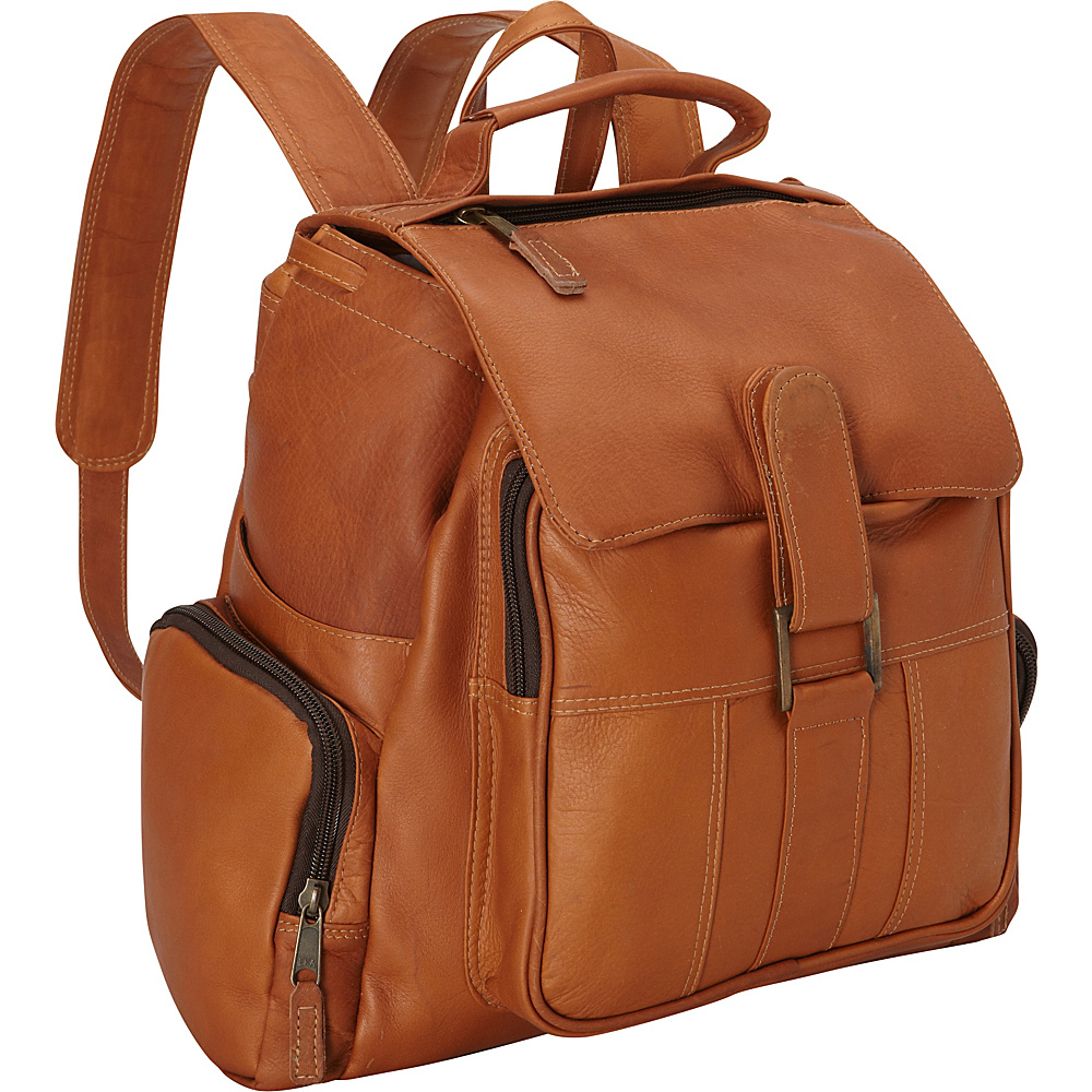Latico Leathers Discovery Backpack - Medium Natural - Latico Leathers Everyday Backpacks