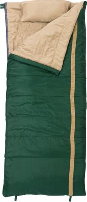 Slumberjack Timberjack 40 Degree Regular Right Hand Sleeping Bag Evergreen - Slumberjack Outdoor Accessories