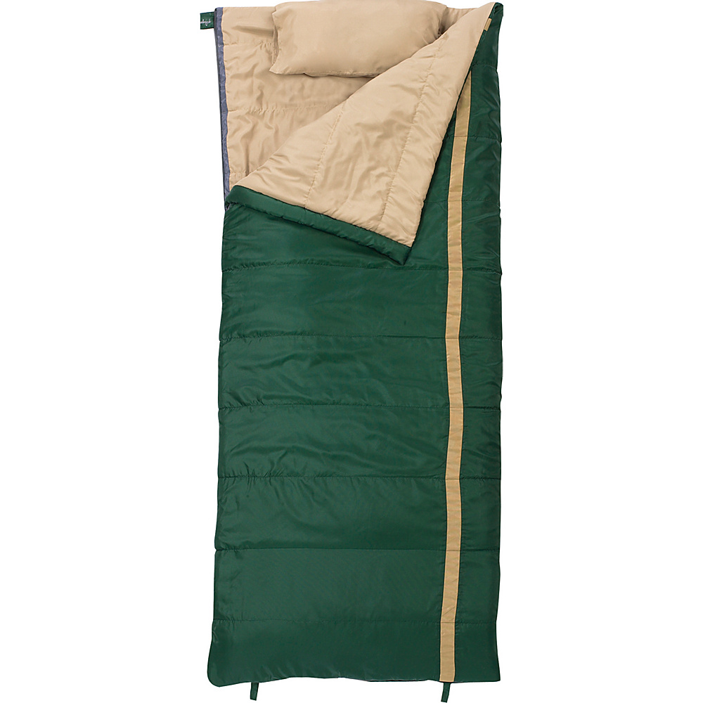 Slumberjack Timberjack 40 Degree Regular Right Hand Sleeping Bag Evergreen Slumberjack Outdoor Accessories