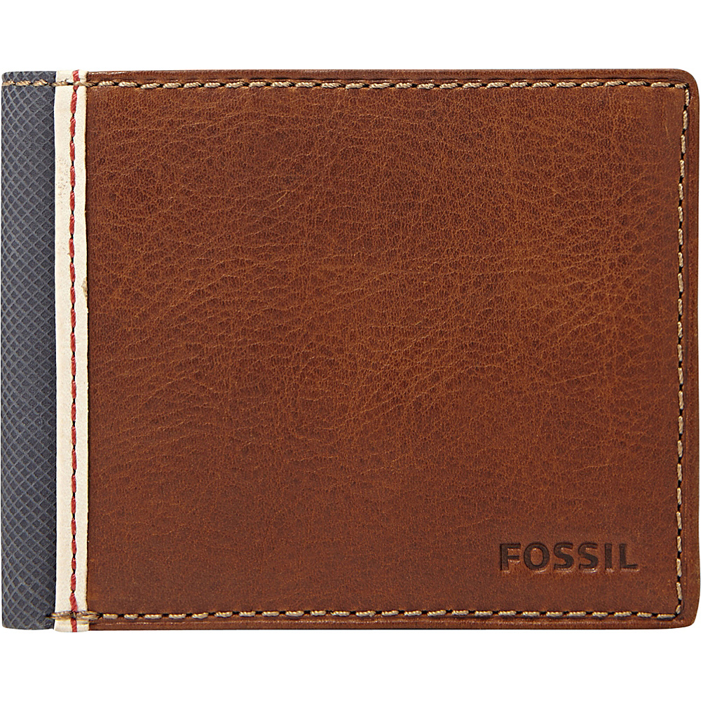 Fossil Elgin Traveler Wallet Brown - Fossil Mens Wallets - Work Bags & Briefcases, Men's Wallets