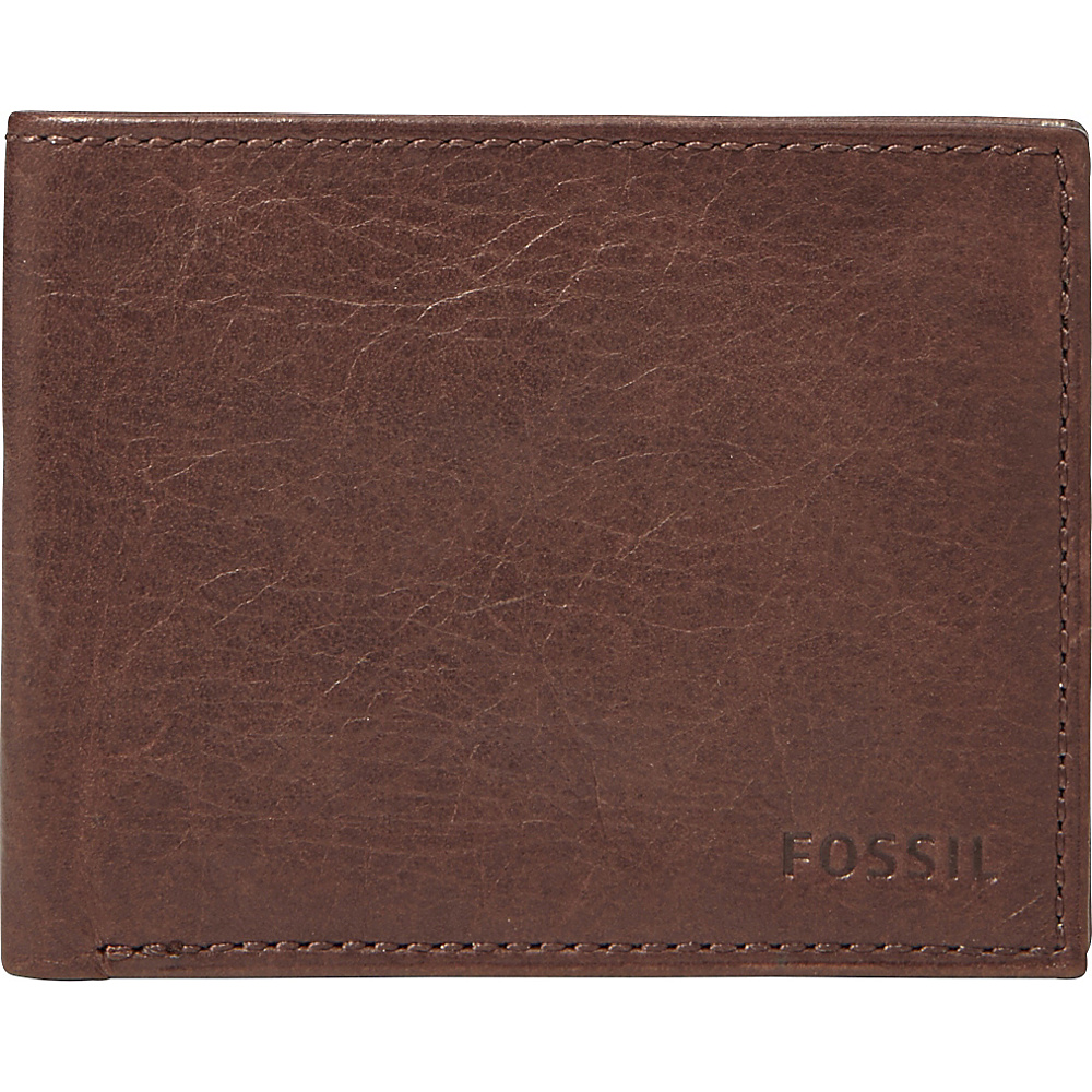 Fossil Ingram Bifold Brown - Fossil Mens Wallets - Work Bags & Briefcases, Men's Wallets