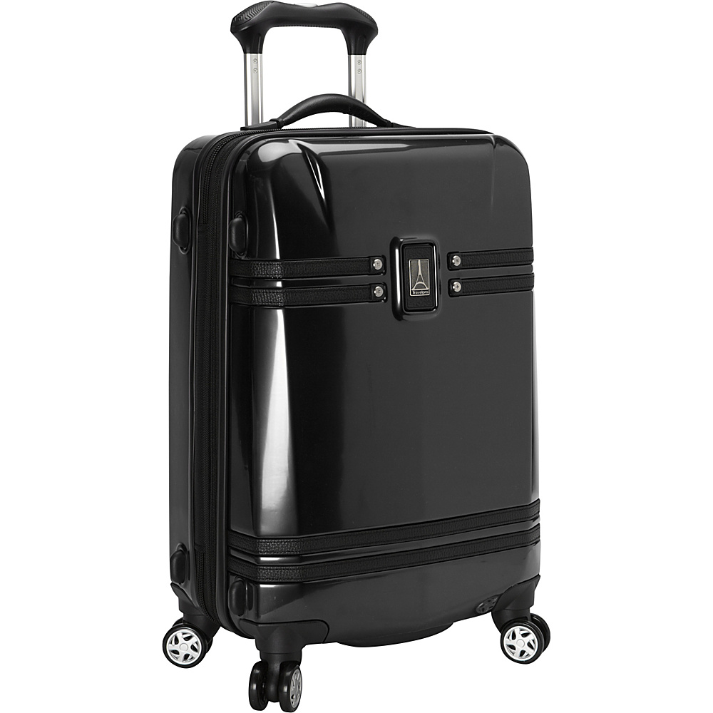 "Travelpro Crew 10 21"" Hardsided Carry-On Spinner Black - Travelpro Hardside Carry-On"