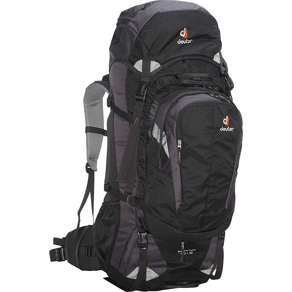 Deuter Quantum 70 10 Backpack black silver Deuter Day Hiking Backpacks