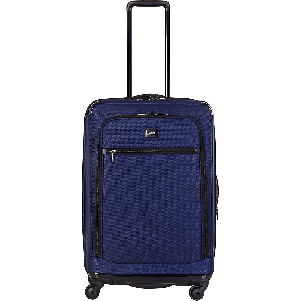 Lojel Exos I Collection 26 Upright Navy Lojel Softside Checked