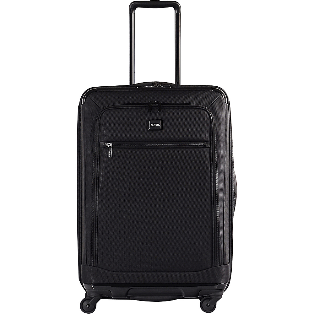 Lojel Exos I Collection 26 Upright Black Lojel Softside Checked
