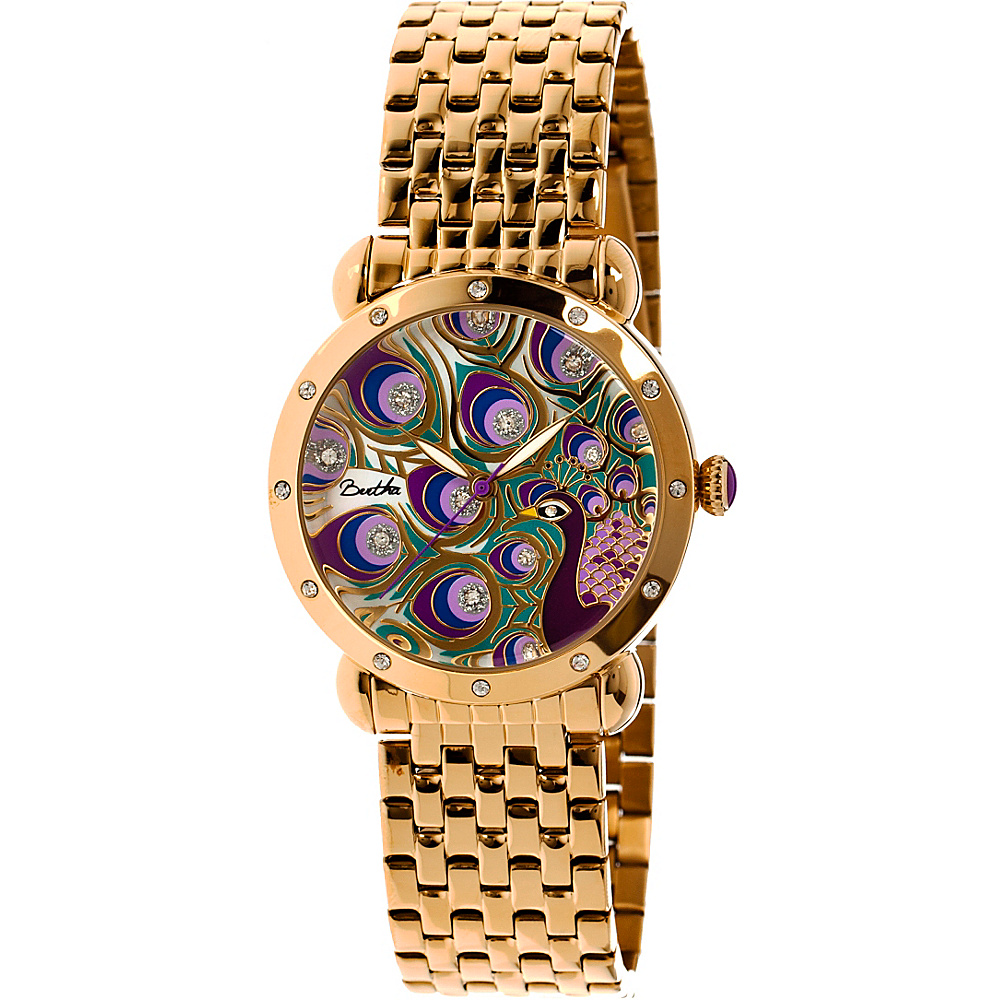 Bertha Watches Genevieve Watch Gold Multicolor Bertha Watches Watches