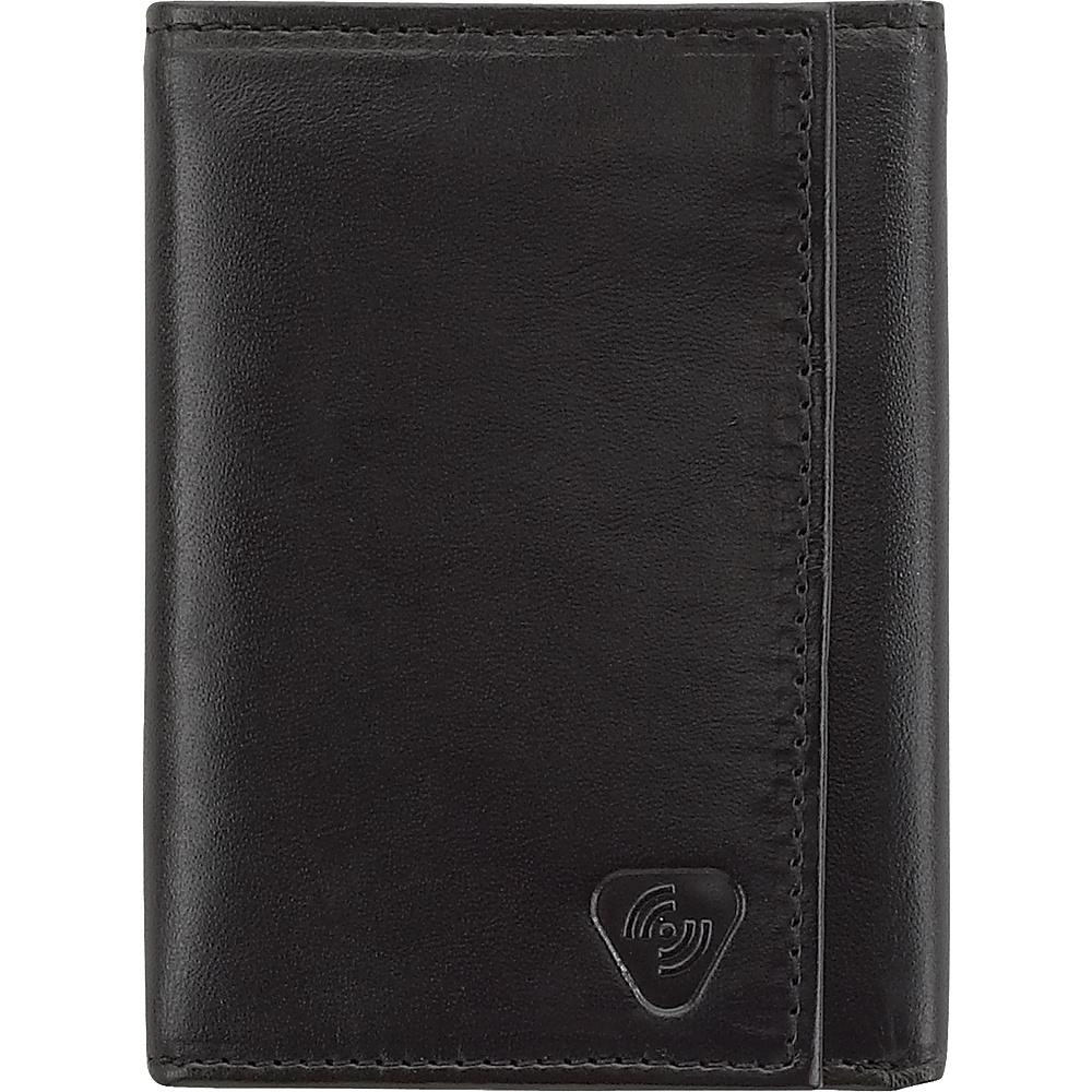 Lewis N. Clark RFID TRI Fold Wallet Black Lewis N. Clark Travel Wallets