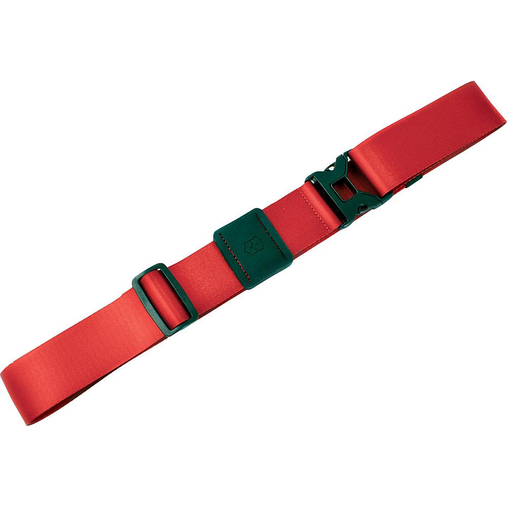 Victorinox Lifestyle Accessories 4.0 Luggage Strap Red - Victorinox Luggage Accessories