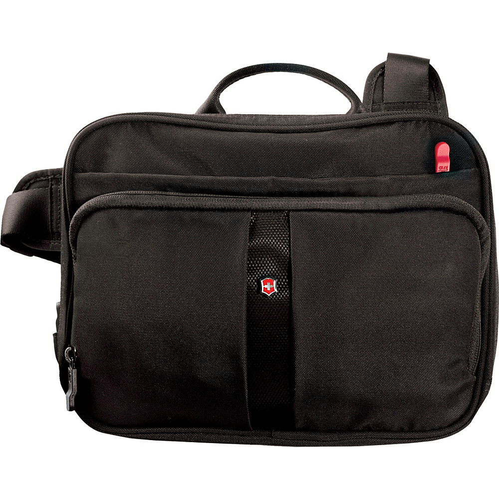 Victorinox Lifestyle Accessories 4.0 Travel Companion with RFID Protection Black - Victorinox Messenger Bags