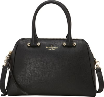 kate spade new york Charles Street Mini Brantley Satchel Black - kate spade new york Designer Handbags