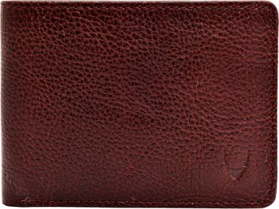 Hidesign Giles Classic Compact Thin Vegetable Tanned Leather Wallet Brown - Hidesign Men's Wallets