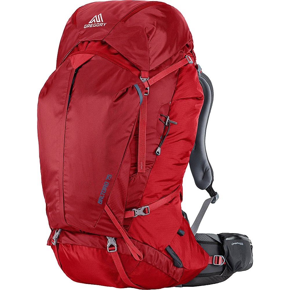 Gregory Men s Baltoro 75 Medium Pack Spark Red Gregory Day Hiking Backpacks
