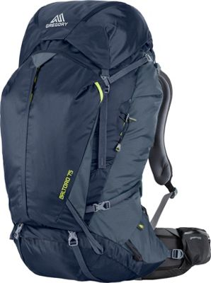 Gregory Men's Baltoro 75 Pack Navy Blue Large - Gregory Day Hiking Backpacks