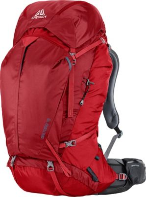 Gregory Gregory Men's Baltoro 75 Pack Spark Red - Large - Gregory Day Hiking Backpacks