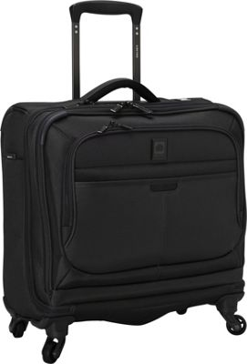 Delsey Helium Pilot 3.0 Spinner Trolley Tote Black - Delsey Luggage Totes and Satchels