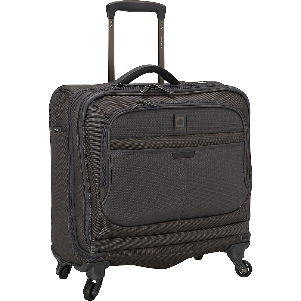 Delsey Helium Pilot 3.0 Spinner Trolley Tote Graphite Delsey Luggage Totes and Satchels