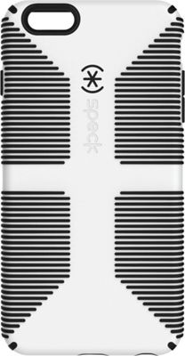 Speck iPhone 6/6s Plus 5.5 inch Candyshell Grip Case White/Black - Speck Electronic Cases