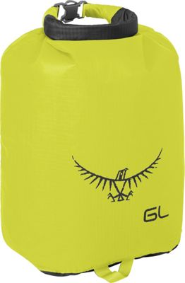 Osprey Ultralight Dry Sack Electric Lime â?? 6L - Osprey Outdoor Accessories