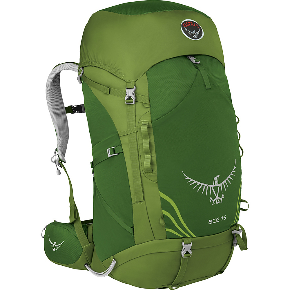 Osprey Ace 75 - Kids Ivy Green - Osprey Backpacking Packs - Outdoor, Backpacking Packs