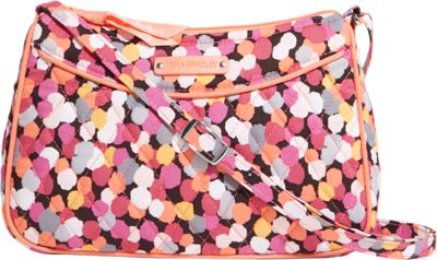 Vera Bradley Little Crossbody Pixie Confetti - Vera Bradley Fabric Handbags