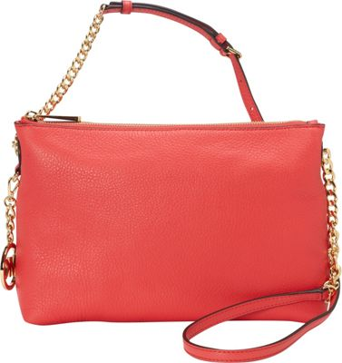 MICHAEL Michael Kors Jet Set Top Zip Chain Messenger Watermelon - MICHAEL Michael Kors Designer Handbags