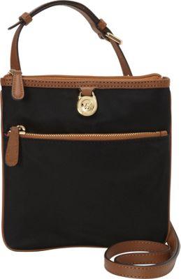 MICHAEL Michael Kors Kempton Small Pocket Crossbody Black - MICHAEL Michael Kors Designer Handbags
