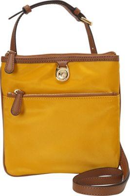MICHAEL Michael Kors Kempton Small Pocket Crossbody Sun - MICHAEL Michael Kors Designer Handbags