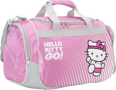 Hello Kitty Golf Sports Bag Pink - Hello Kitty Golf Gym Duffels