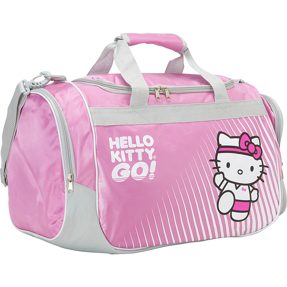 Hello Kitty Golf Sports Bag Pink - Hello Kitty Golf Gym Duffels