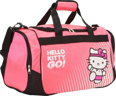 Hello Kitty Golf Sports Bag Hot Pink - Hello Kitty Golf Gym Duffels