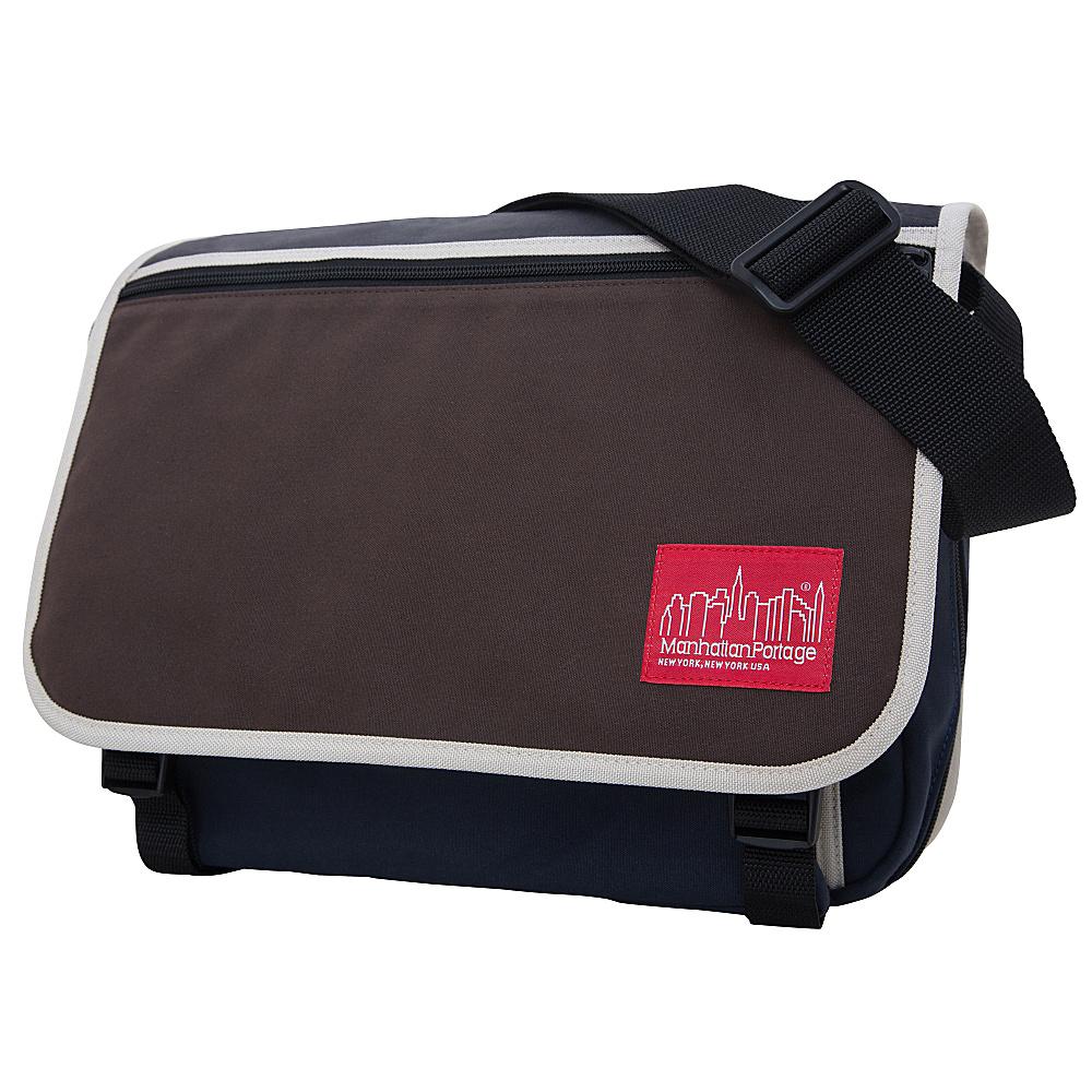 Manhattan Portage Army Duck Europa Medium with Back Zipper PNE/BLK/IVY - Manhattan Portage Messenger Bags - Work Bags & Briefcases, Messenger Bags