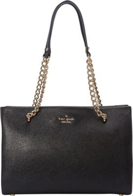 kate spade new york Emerson Place Smooth Small Phoebe Black - kate spade new york Designer Handbags