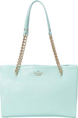 kate spade new york Emerson Place Smooth Small Phoebe Spa Blue - kate spade new york Designer Handbags