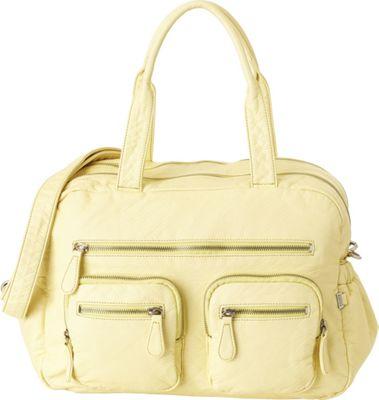 OiOi Lizard Carry All Diaper Bag Lemon - OiOi Diaper Bags & Accessories