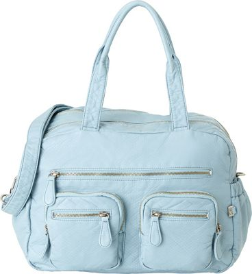 OiOi Lizard Carry All Diaper Bag Blue - OiOi Diaper Bags & Accessories