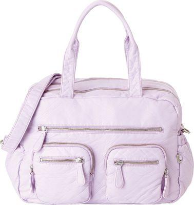 OiOi Lizard Carry All Diaper Bag Lilac - OiOi Diaper Bags