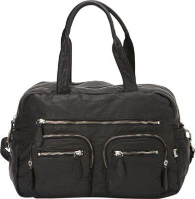 OiOi Lizard Carry All Diaper Bag Black - OiOi Diaper Bags & Accessories