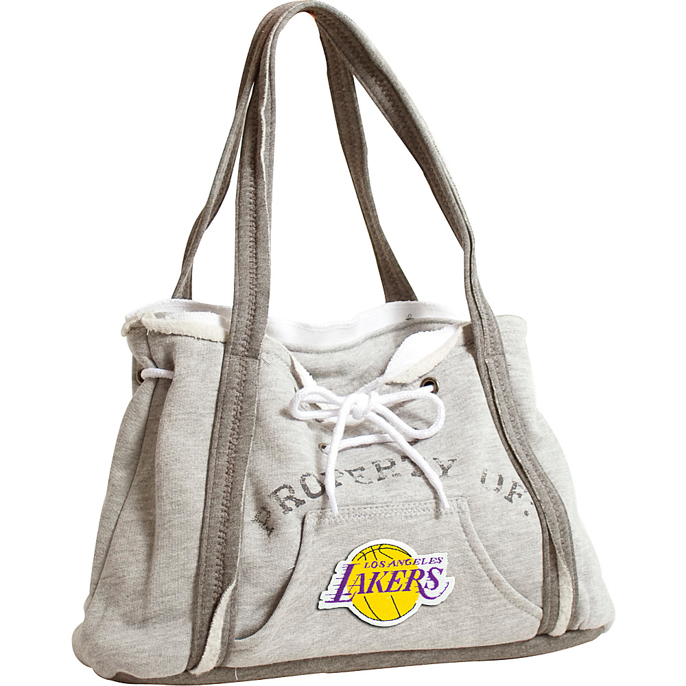 Littlearth Hoodie Purse - NBA Teams Los Angeles Lakers - Littlearth Fabric Handbags - Handbags, Fabric Handbags