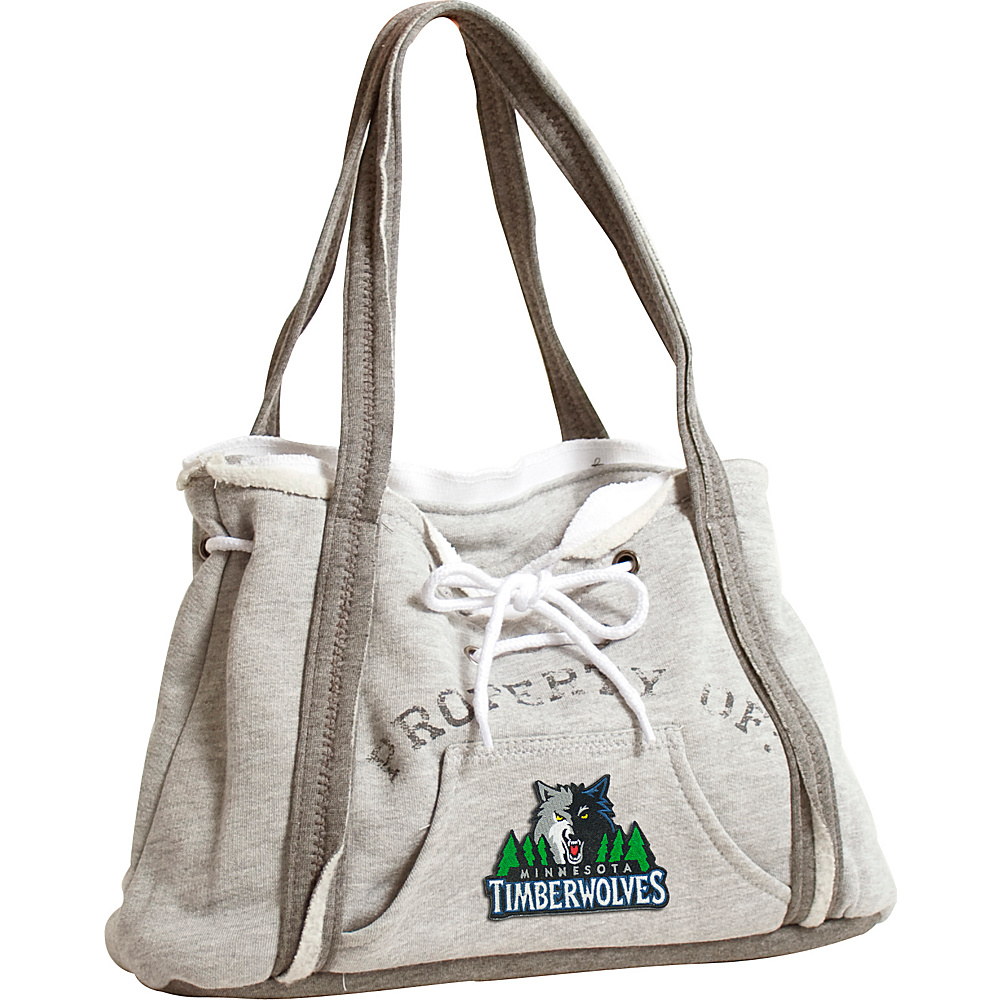 Littlearth Hoodie Purse - NBA Teams Minnesota Timberwolves - Littlearth Fabric Handbags - Handbags, Fabric Handbags