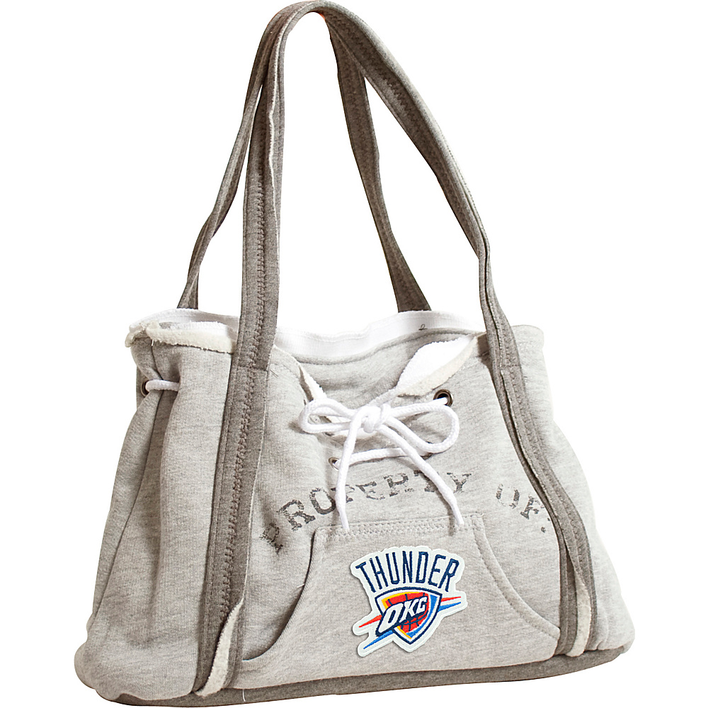 Littlearth Hoodie Purse - NBA Teams Oklahoma City Thunder - Littlearth Fabric Handbags - Handbags, Fabric Handbags