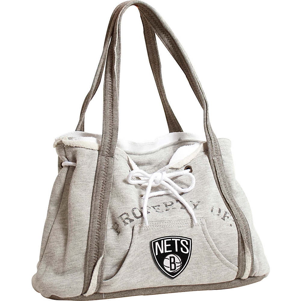 Littlearth Hoodie Purse - NBA Teams Brooklyn Nets - Littlearth Fabric Handbags - Handbags, Fabric Handbags