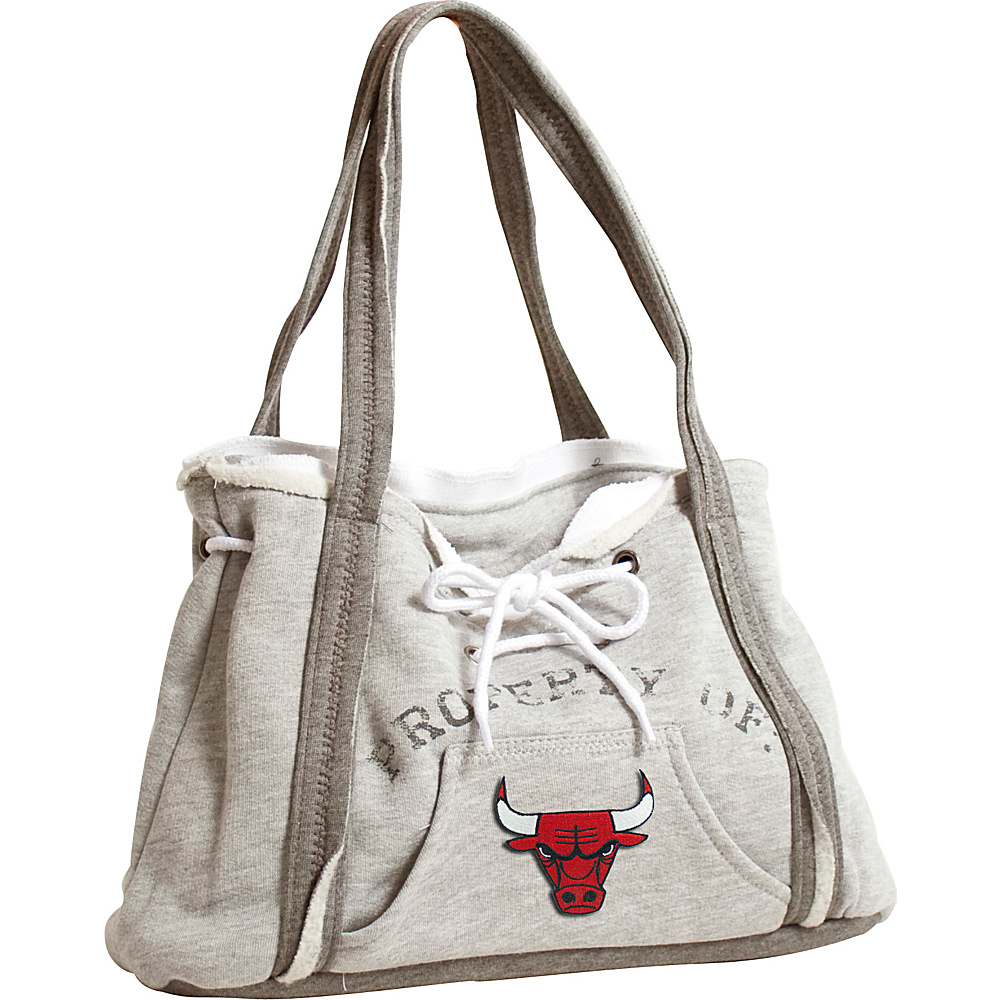 Littlearth Hoodie Purse - NBA Teams Chicago Bulls - Littlearth Fabric Handbags - Handbags, Fabric Handbags