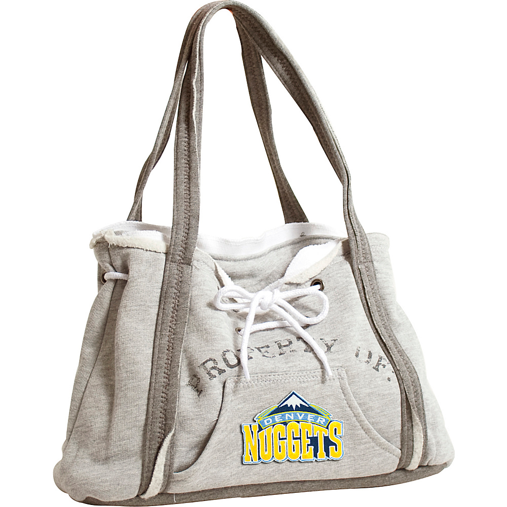 Littlearth Hoodie Purse - NBA Teams Denver Nuggets - Littlearth Fabric Handbags - Handbags, Fabric Handbags