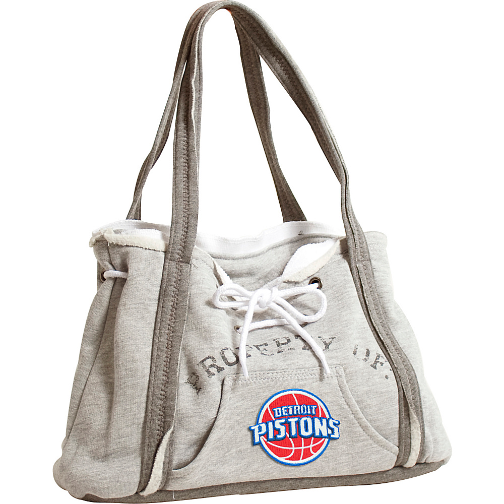 Littlearth Hoodie Purse - NBA Teams Detroit Pistons - Littlearth Fabric Handbags - Handbags, Fabric Handbags