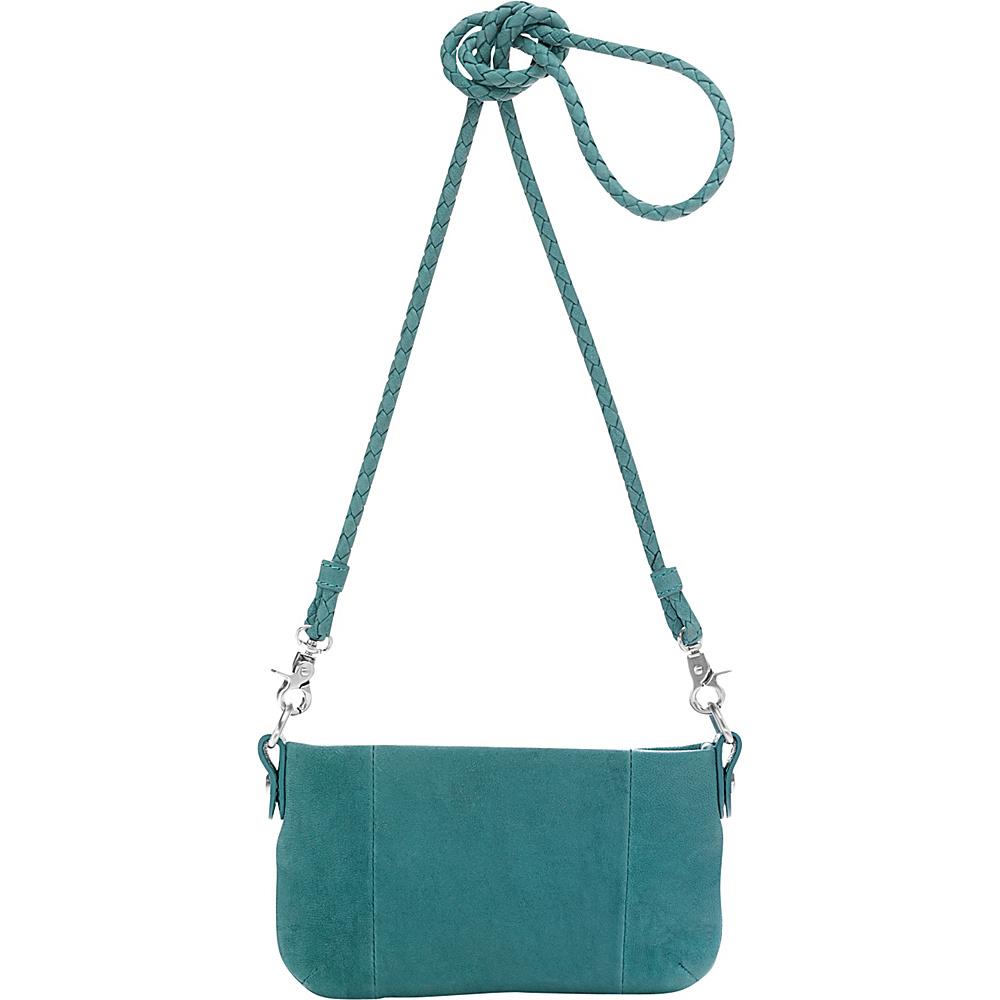 Ellington Handbags Eva Pouchette Aquamarine - Ellington Handbags Leather Handbags