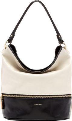 Trina Turk Cabana Hobo Bone - Trina Turk Designer Handbags