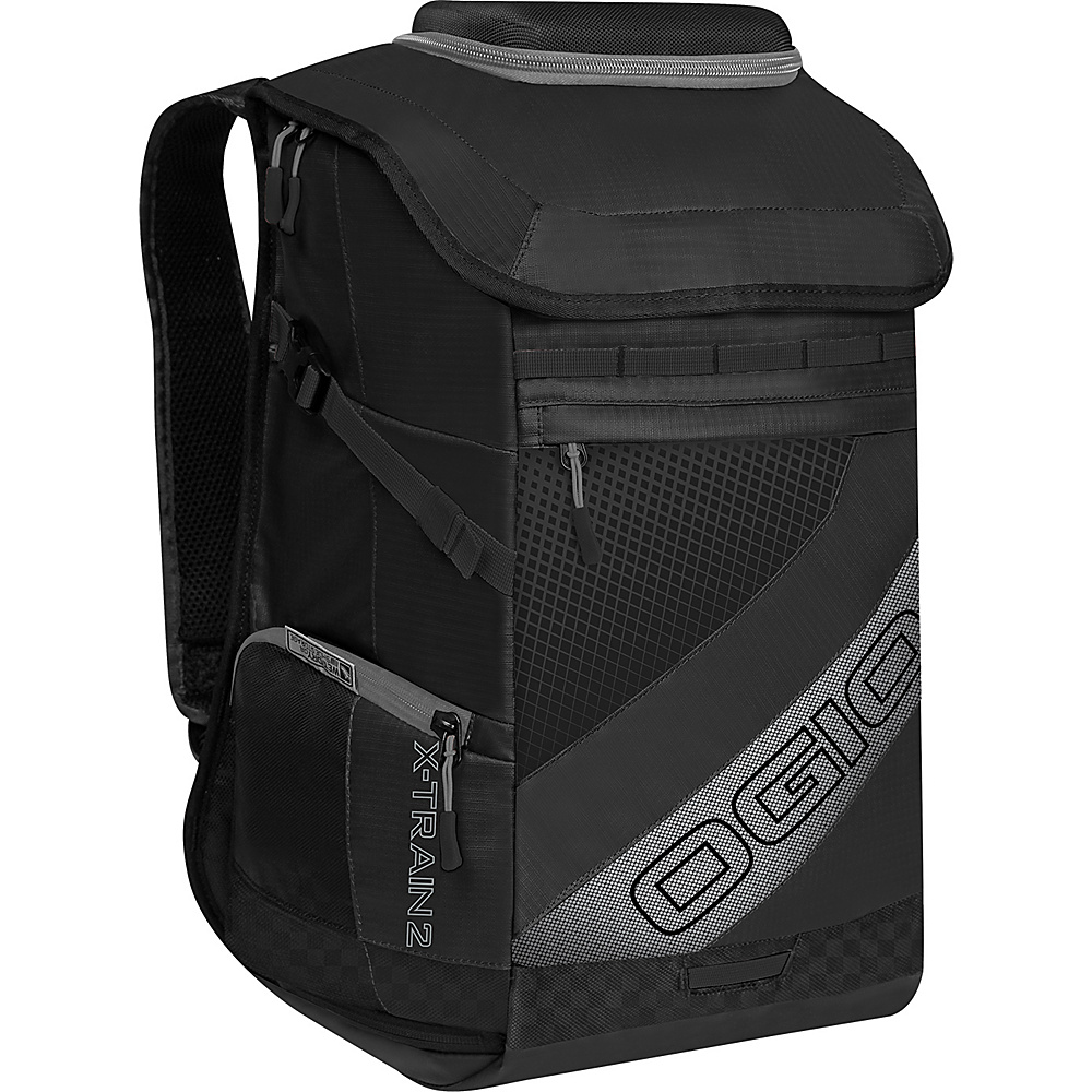 OGIO X Train 2 Backpack Black Silver OGIO Business Laptop Backpacks
