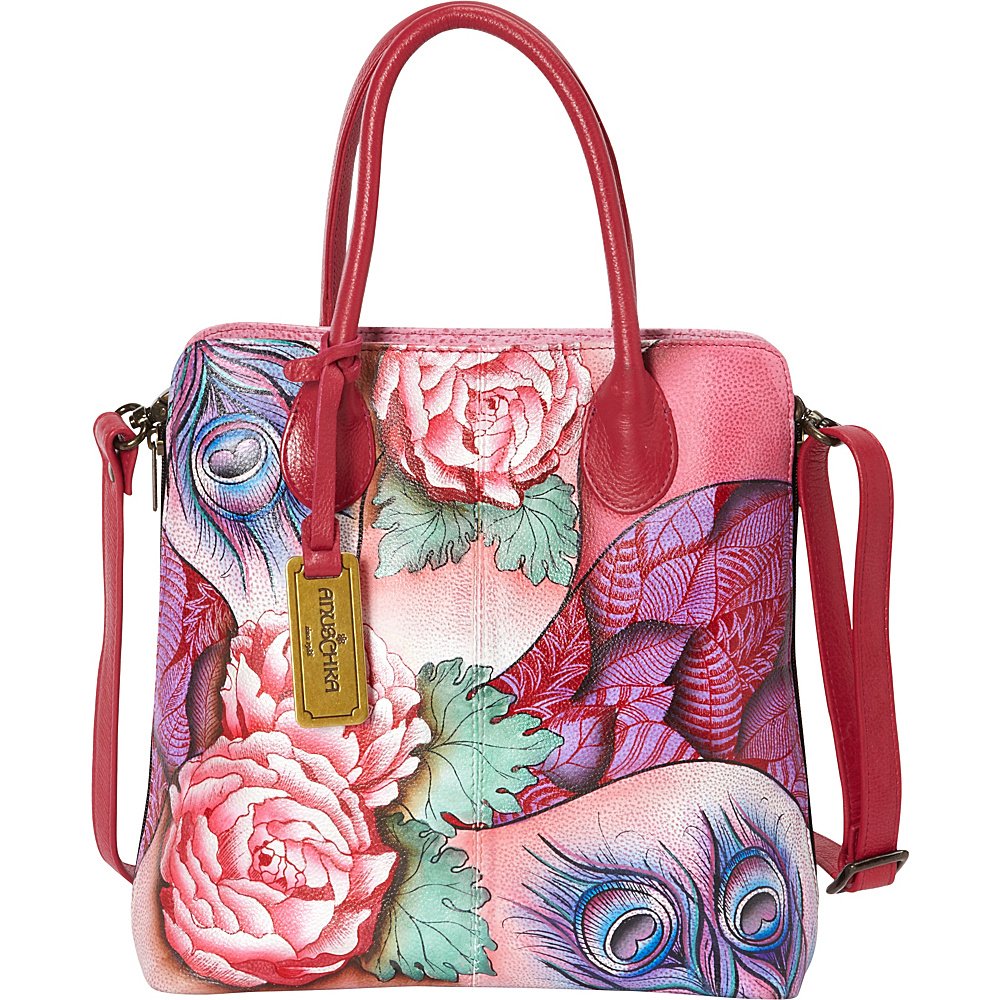 UPC 813111019072 product image for Anuschka Medium Expandable Convertible  Tote Rosy Reverie (RRV) ... b74121b1c5
