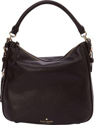 kate spade new york Cobble Hill Small Ella Satchel Black - kate spade new york Designer Handbags