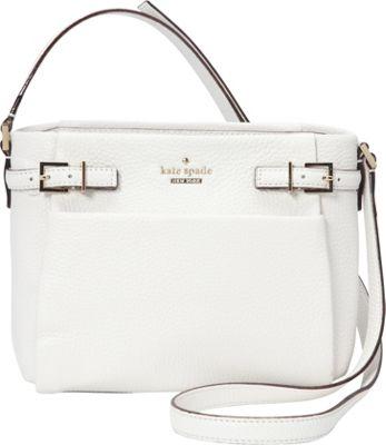 kate spade new york Holden Street Mini Brandy Crossbody Bright White - kate spade new york Designer Handbags